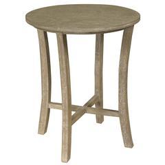 Newburn Side Table, Gray Wash Finish
