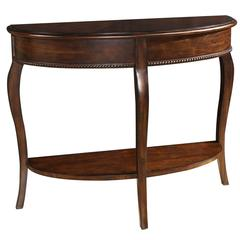 Chakki Console Table, Dark Cherry Finish