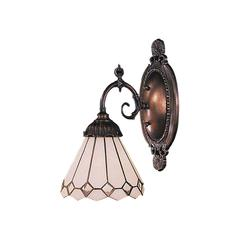 Mix-N-Match 1 Light Wall Sconce In Tiffany Bronze