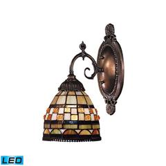 Mix-N-Match 1 Light LED Wall Sconce In Classic Bronze