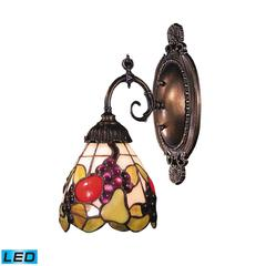 ELK lighting Mix-N-Match 1 Light LED Wall Sconce In Tiffany Bronze