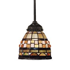 ELK lighting Mix-N-Match 1 Light Pendant In Classic Bronze
