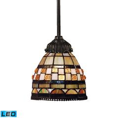 ELK lighting Mix-N-Match 1 Light LED Pendant In Classic Bronze