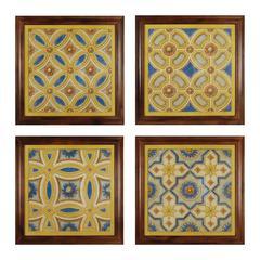 Sterling Florentine Tile I - IV
