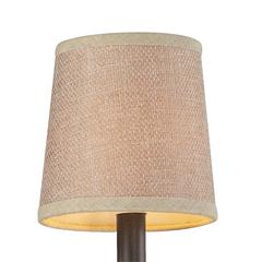ELK lighting Veronica Mini Shade In Tan Textured Linen