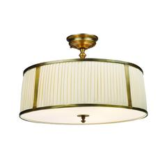 Williamsport 4 Light Semi Flush In Vintage Brass Patina