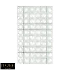Dimond Home Modern Geometric Grid Mirror Clear