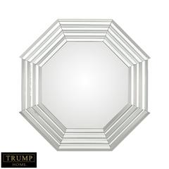 TRUMP HOME Octagonal Stepped Wall Mirror