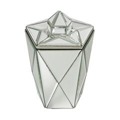 Lazy Susan Mirrored Jewel Canister