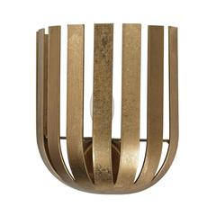 Olympia Wall Sconce In Gold Leaf