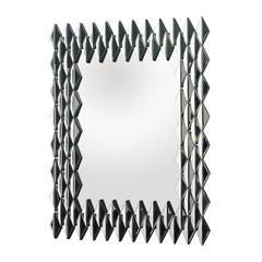 Lazy Susan Geometric Wall Mirror