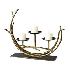Curved Branches Candle Holder