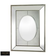Sterling Large Mirror Set In A Heavy Mirrored Frame