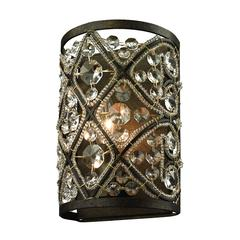 Amherst 1 Light Vanity In Antique Bronze