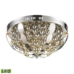 Light Spheres LED Flushmount In Polished Chrome