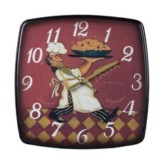 Sterling Busy Chef Clock