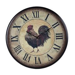 Sterling Rooster Clock - Small