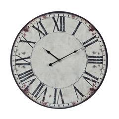 Roman Numeral Printed Clock