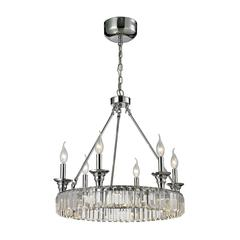 Manning 18 Light LED Chandelier In Polished Chrome