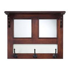 Mirror / Wood Wall Fixed Coat Hanger