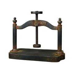 Sterling Cast Iron Book Press