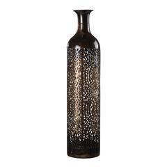Sterling Bronze Metal Open Work Vase
