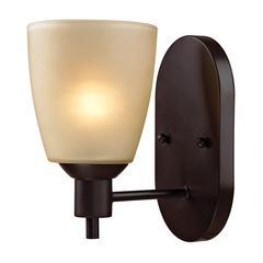 Cornerstone Jackson 1 Light Sconce In Oil Rubbed Bronze
