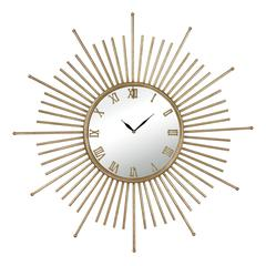 White Lodge Mid-Century Style Wall Clock By
