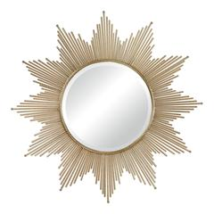 Sterling Churchfield Starburst Wall Mirror By
