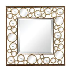 "Metal Mirror With 1"" Bevel"