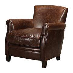 Sterling Moorings Leather Arm Chair By