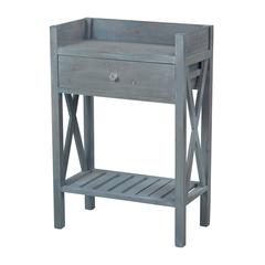 Biscayne Beachcomber Blue Side Table By