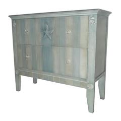 Sterling Golden Glades Chest Of Drawers In Shoreline Blue By