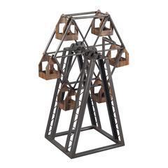 Bradworth-Industrial Ferris Wheel Candle Holder