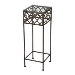 Cheadle-Moorish Pattern Accent Table
