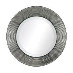 Sterling La Quinta-Mini Mirror In Hammered Metal Frame