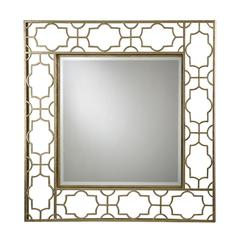 Moorish Style Beveled Mirror