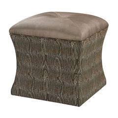 Sterling Luxe Ottoman - Green