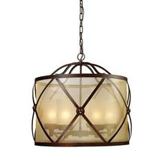ELK lighting Cumberland 6 Light Chandelier In Classic Bronze