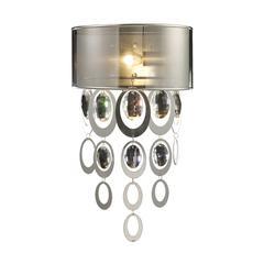 ELK lighting Parisienne 1 Light Wall Sconce In Silver Leaf