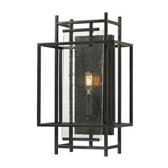 ELK lighting Intersections 1 Light Wall Sconce In Oil Rubbed Bronze