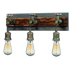 Jonas 3 Light Vanity In Weathered Multitone
