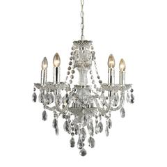 Cullard-5 Light Pendant In Clear Finish