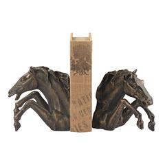 Sterling Bascule Bookends