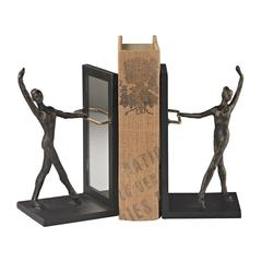 Sterling Bar Bookends