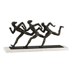 Sterling Photo finish Sculpture