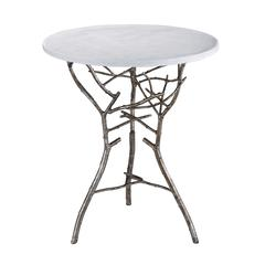Lazy Susan Silver Thicket Table