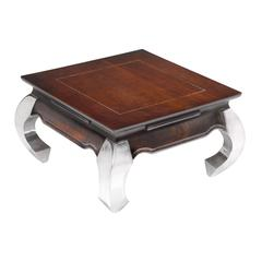 Sterling Opium End Table 60 With Aluminum Legs
