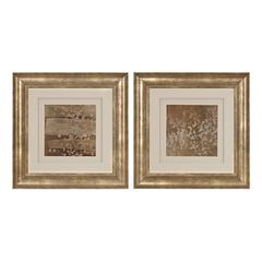 Golden Rule Shadow Box I, II - Limited Edition Print Under Glass