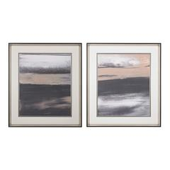 Sterling Glide I, II- Limited Edition Print On Fine Art Paper Under Glass